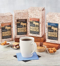 Harry & David Moose Munch Ground Coffee Collection