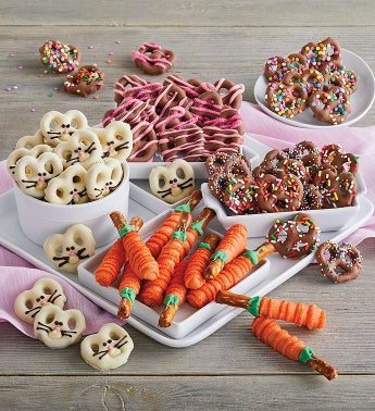 Easter Pretzel Gift Box
