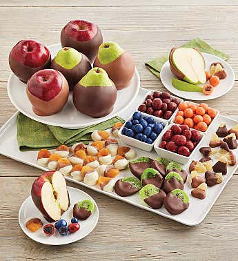 Belgian Chocolate-Dipped Fruit