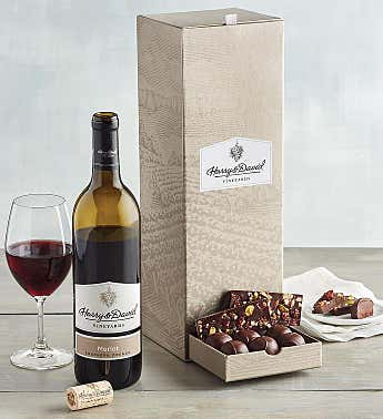 Chocolate Bark and Merlot