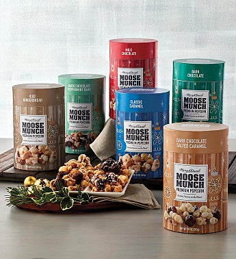 Moose Munch® Premium Popcorn Holiday Flavors - 6 Pack