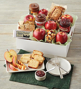 Apples and Treats Gift Tray