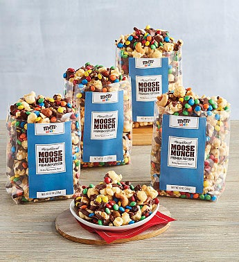 Moose Munch® Premium Popcorn M&M's® 4-Pack