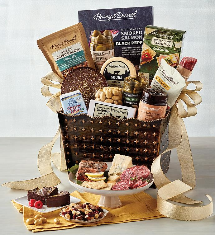 Deluxe Luxury Gourmet Gift Basket