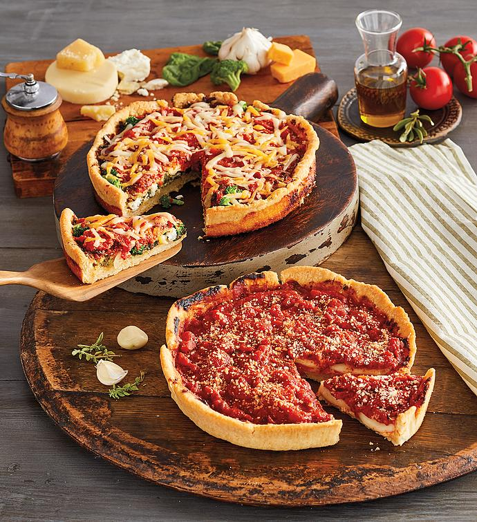 Pizzeria Uno® Veggie Lover's Deep Dish Pizza 2-Pack