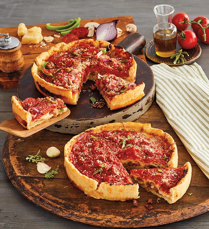 Pizzeria Uno® Deluxe Meat Lover's Deep Dish Pizza 2-Pack