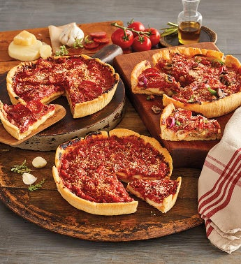 Pizzeria Uno174 Original Deep Dish Pizza Deluxe 3-Pack