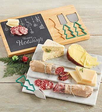 Holiday Charcuterie and Cheese Board Gift