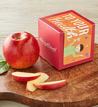 """To Your Health"" Single Apple Gift"
