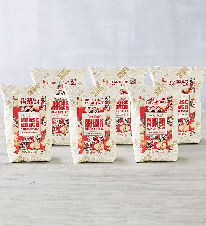 Moose Munch® Premium Popcorn Peppermint Bark 6-Pack