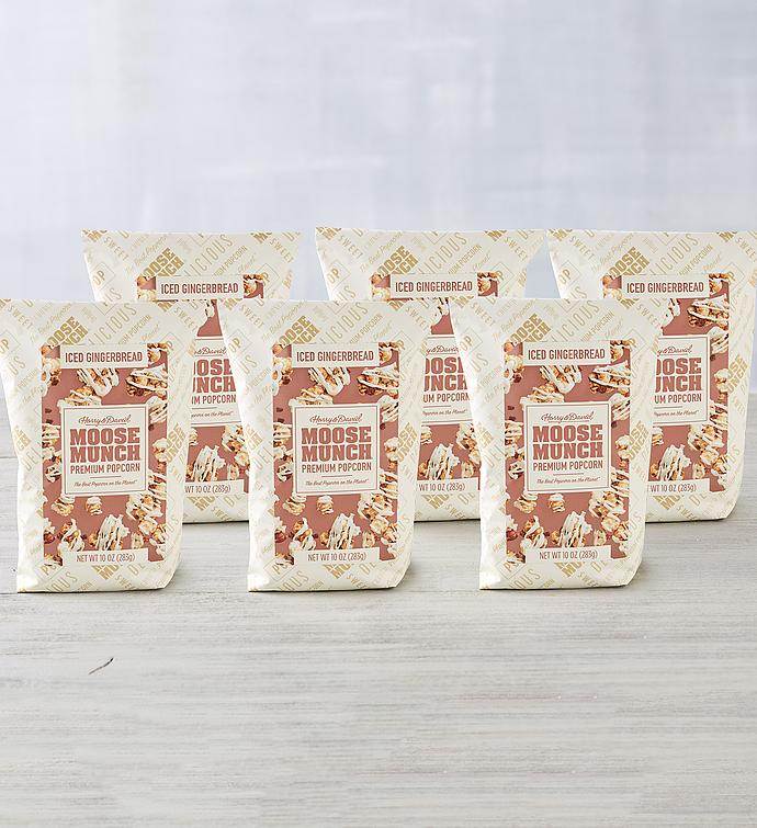 Moose Munch® Premium Popcorn Iced Gingerbread 6-Pack