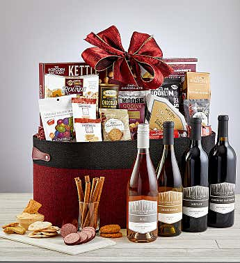 Countryside Wine Gift Basket