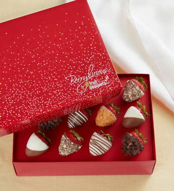 Berrylicious174 Deluxe Chocolate-Covered Strawberries 8211 6 Count