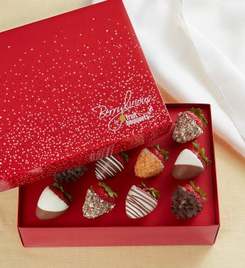 Berrylicious® Deluxe Chocolate-Covered Strawberries – 6 Count