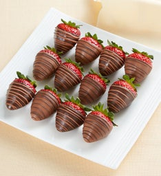Berrylicious Sugar-Free Chocolate-Dipped Strawberries – 12 Count