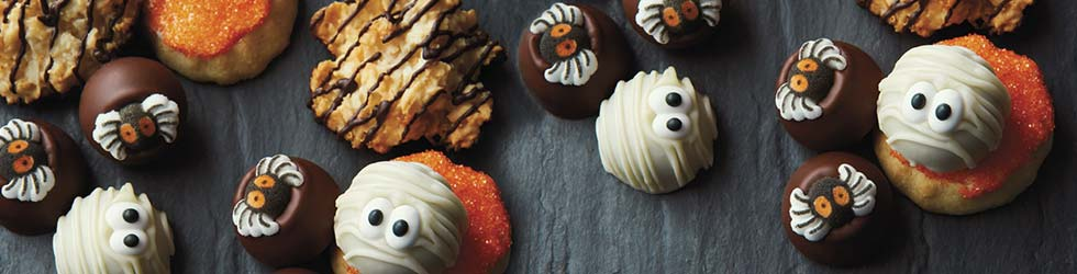 ENJOY DOUBLE REWARD POINTS. Celebrations Rewards® members, earn double the reward points on all Halloween items, now through October 24. 200 points = $20 Savings Pass. Shop Now