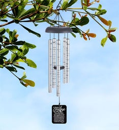 A Mother's Goodbye Memorial Wind Chime