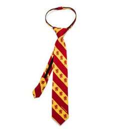 Gryffindor Stripe Boys' Zipper Tie