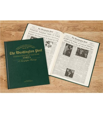Washington Post 40s Decade Book