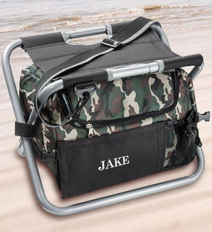 Deluxe Camouflage Cooler Seat