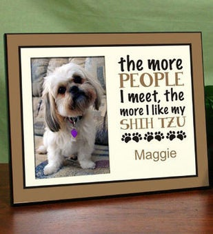 Personalized Pet Printed Frame
