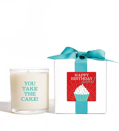 Personalized You Take the Cake! Candle