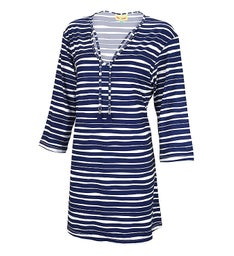 Personalized  Striped Womens Tunic