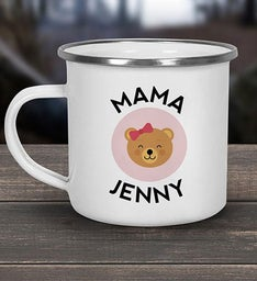 Mama Bear Personalized Camper Mug