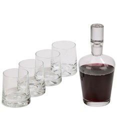 Personalized 5 Piece Decanter Set