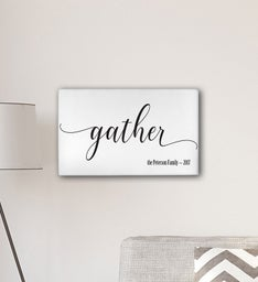 Personalized Gather Modern Farmhouse