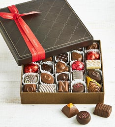 Neuhaus Belgian Chocolates in Luxury Leather Box