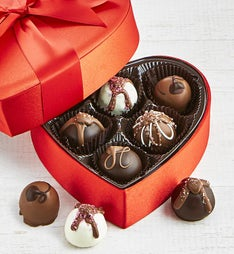 The Sweet Shop Premier Truffle Heart Box