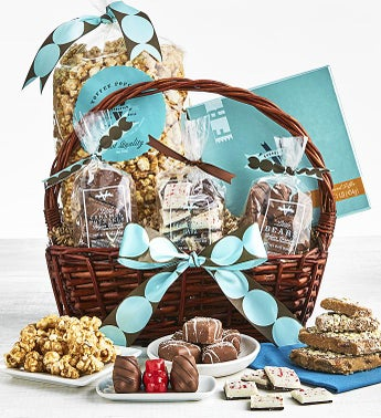 V Chocolates Exceptional Gift Basket