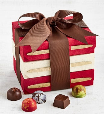 Knipschildt Chocolatier Exclusive Tower Trio