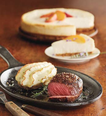 Filet of Top Sirloin Meal