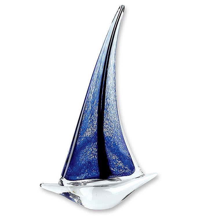 Artistic Glass Sailboat