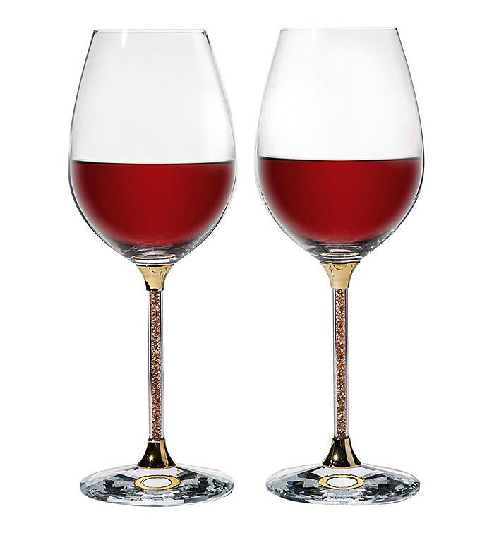 Crystal Wine Glasses Set