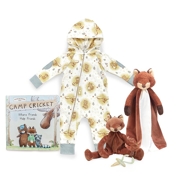 Little Camper Foxy Snuggleand Play Set