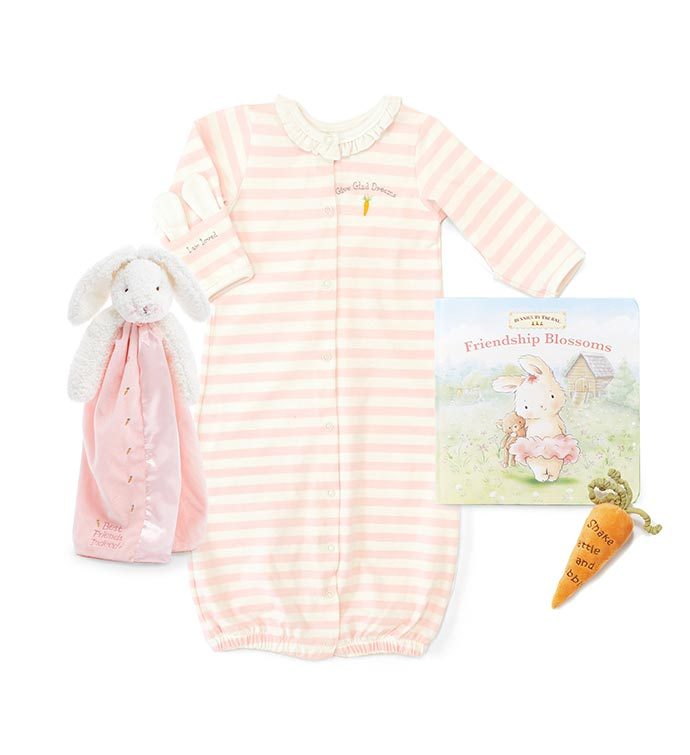 Welcome Baby Girl -  Layette Gift Set