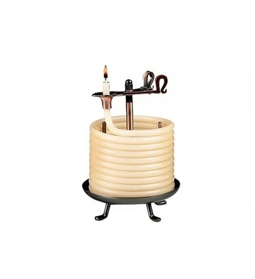 Self Extinguishing Coil Candle (Unscented) 60 Hour