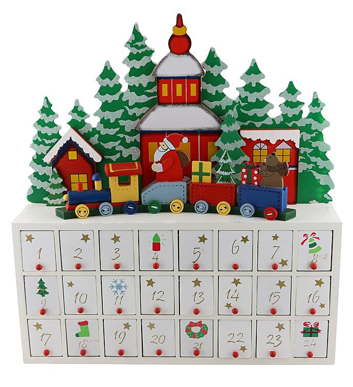 Santa Claus Advent Calendar