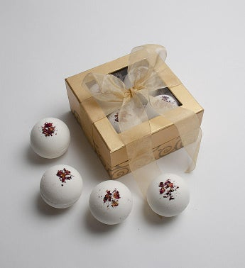Rose Bath Bomb Gift Set
