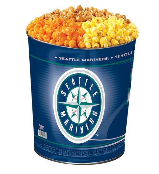 Seattle Mariners 3-Flavor Popcorn Tins