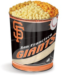 San Francisco Giants 3-Flavor Popcorn Tins