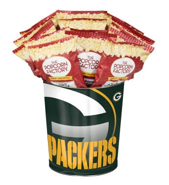 Green Bay Packers 3-Flavor Popcorn Tins