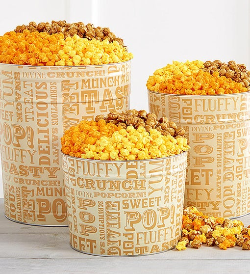 Popcorn Lovers Popcorn Tins