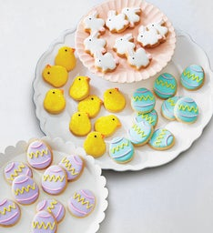 Easter Fancy Decorated Cookies