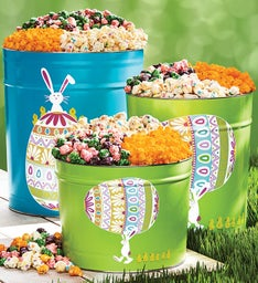 Easter Egg Parade Deluxe Popcorn Tins
