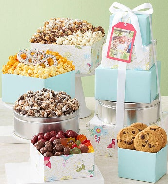 Spring Awakening 5-Tier Tower  Popcorn Tin