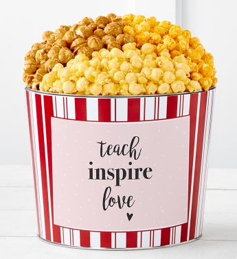Tins With Pop Teach Inspire Love